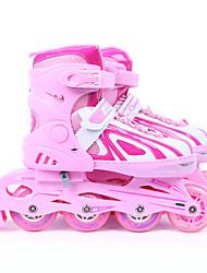 Shuangpai mit Inline-Skate-serena verstellbare Rollschuhschuhe rosa m-Code (31-34)