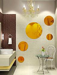Романтика / Зеркала / Геометрия / 3D Наклейки Наклейки с кристаллами , Green acrylic 30*30cm  20*20cm    10*10cm