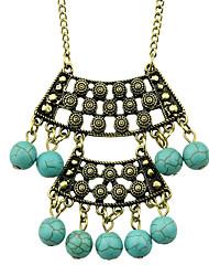 Bijoux Pendentif de collier Mariage / Soirée / Sports Alliage / Turquoise 1pc Femme Cadeaux de mariage