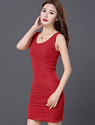 New Summer Women Sleeveless Dress
