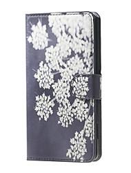 Pour Coque Nokia Portefeuille Porte Carte Avec Support Coque Coque Intégrale Coque Fleur Dur Cuir PU pour Nokia Autre