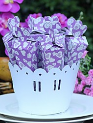 10 Piece/Set Favor Holder Containing Flower Pot- Creative Card Paper Gift Boxes