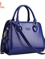 M.Plus Women's Fashion PU Leather Messenger Shoulder Bag/Tote