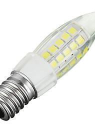 5W E14 LED Mais-Birnen B 44 SMD 2835 300-400 lm Kühles Weiß Dekorativ AC 220-240 V 1 Stück
