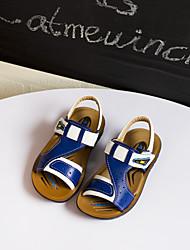 Boys' Shoes Casual Faux Leather Sandals Blue / Khaki