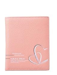 Victory Polo Women's Cowhide Heart-shaped Wallet
