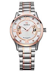 uomini dell'orologio affari orologio automatico orologio meccanico di lusso di marca degli uomini orologi dei resistenti orologio
