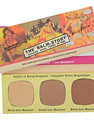 Bahama Mama Contouring Powder Eye Shadow Palette Blusher Palette Three in One