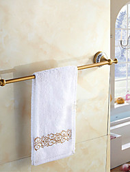 Single Towel Bar , Traditional Antique Copper Wall Mounted