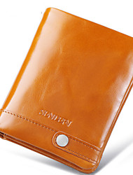 Women Cowhide Bi-fold Clutch / Evening Bag / Card & ID Holder / Mobile Phone Bag / Business Card Holder