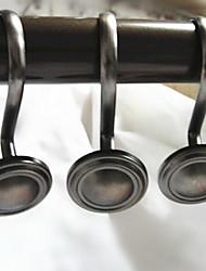 Ganchos de Cortina de ChuveiroLiga de Zinco-3.15×1.45 inch