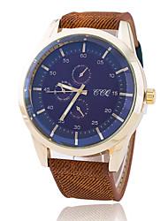 Xu™ Men's Fashionable Outdoor Leisure Sports Denim Quartz Watch Wrist Watch Cool Watch Unique Watch