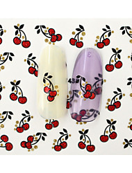Autocolantes de Unhas 3D-Desenho Animado / Fruta / Adorável- paraDedo- deOutro- com10pcs-6.5*5.2