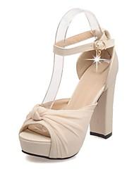 Черный / Розовый / Белый - Женская обувь - Свадьба / Для офиса / Для праздника / Для вечеринки / ужина - Материал на заказ клиента -На