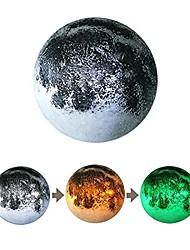 Настенный светильник peleustech творческой имитации 3d луны СИД цвета световой энергии Переход на летнее и с дистанционным управлением