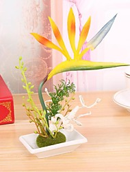 High Quality Strelitzia Flower Semboitement  Silk Flower Artificial Flowers for home Decoration Wedding Decoration