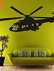 Forme / Transport Stickers muraux Stickers avion,PVC S:48*103cm / M:61*127cm / L:73*170cm