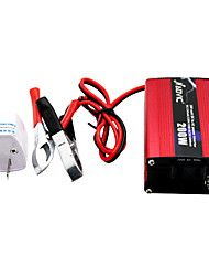 AUVIC 200W 12V to 220V Car Inverter Power Inverter with USB Solar Energy Storage Battery