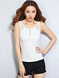 Summer Women New Slim Lace Vest