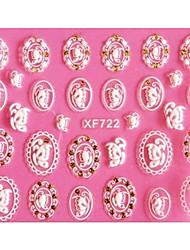 -Finger-3D Nails Nagelaufkleber-Andere-1Stück -10X7X0.1cm