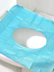 20PCS Travel Disposable Toilet Seat Cushion 100% Primary Wood Pulp Paper +100% Waterproof PE Film