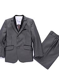 Vestido de Padrino-Plata Poliéster/Algodón-3