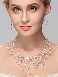 Women's Imitation Pearl Jewelry Set Imitation Pearl