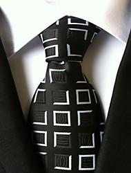 Галстук (Черный , Полиэстер) Сетка