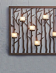 Metal Wall Art Wall Decor,Branch Candlestick Wall Decor