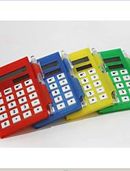 multi fonction calculatrice portable avec mémo&plume de couleur aléatoire