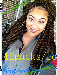 New Arrive Best Quality 1Pack/Lot 12-24'' Synthetic Hair Havana Twist Crochet Braids for Afro Curly