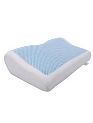 Summer Cool Gel Polyester Fiber Bedding Pillow Massager 50x31x12/6cm Memory Foam Pillows Comfortable Cervical