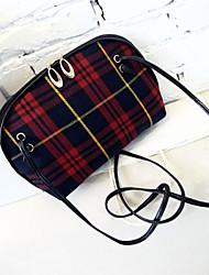 L.WEST® Women's Plaid Shell Packages/Shoulder Bag