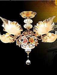 3W Lustres ,  Tradicional/Clássico / Rústico/Campestre / Vintage / Retro / Rústico Pintura Característica for LED CerâmicaSala de Estar /
