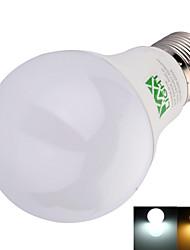 9W E26/E27 Круглые LED лампы A60(A19) 22 SMD 2835 800 lm Тёплый белый / Холодный белый Декоративная AC 100-240 V 1 шт.
