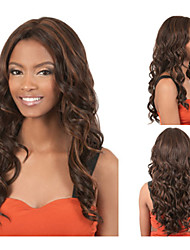 Synthetic African american wigs Long Kinky Curly hair Natural Full wigs for women sw0041