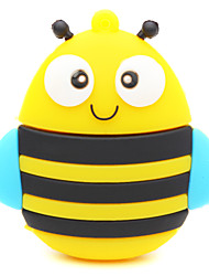 ZPK25 64GB Bee Yellow Cartoon USB 2.0 Flash Memory Drive U Stick