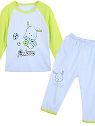 Unisex Cotton Clothing Set,All Seasons Long Sleeve