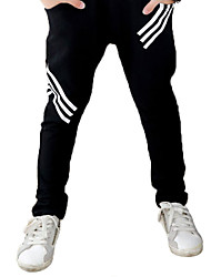 Boy's Cotton Super Fall /Spring Fashion Three Lines Letter  Leisure   Pants