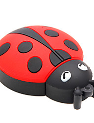 ZPK15 64GB Beetle Coccinella Septempunctata Cartoon USB 2.0 Flash Memory Drive U Stick