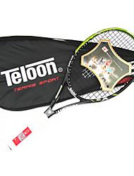 Las raquetas de tenis ( Rojo / Azul / Oro / Verde Oscuro , Aleación de aluminio y carbono ) -Impermeable / No deformable / Resistencia /