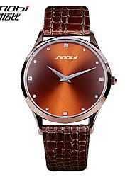 Men's Watch Dress Watch Two Needle Design Campus Sports Students Quartz Watch 30M Waterproof Watch