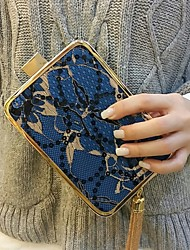 2016 Women Blue Clutch Evening Party Bags