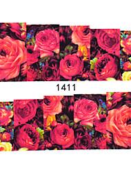 Cvijet / Lijep - 3D Nail Naljepnice - za Prst / nožni prst - 15cm x 10cm x 5cm (5.91in x 3.94in x 1.97in) - 30PCS kom. - Other