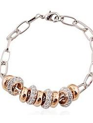 Hot New Charming Lovely Simple Bling Elegant Beads Bracelet Bangle Party Jewelry For Women
