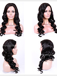 2016 Hot New Hot Sexy Big Wavy Wave 6-26 Inches 8A Brazilian Virgin Human Hair Full Lace Front Wigs for Women