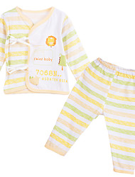 Unisex Cotton Clothing Set,All Seasons Long Sleeve