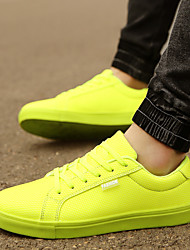 Men's Shoes Outdoor / Casual Fashion Sneakers Black / Green / White / Orange