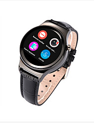 New Round Smart Watch with SIM Card Slot & Heart Rate Sensor for iOS Android Smartphone MT2502 IPS screen