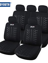 autoyouth новый стиль обложка сиденье автомобиля петельные ткани универсальный подходит для большинства транспортных средств чехлы сидений